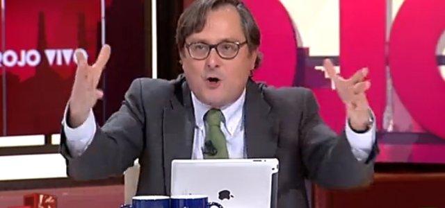 """Marhuenda estalla con los socialistas: """"Que tengan narices de decir en público que Rajoy ampara la corrupción"""""""