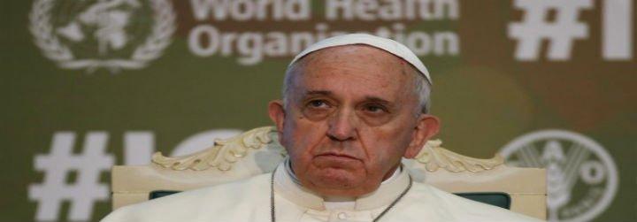 """Papa en la FAO: """"El hambriento nos pide dignidad, no limosna"""""""