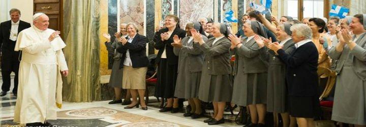 """El Papa aconseja a las monjas evitar """"envidias y celos"""""""