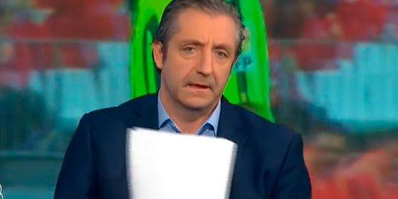 """Josep Pedrerol defiende a Luis Enrique: """"Como no es pelota con la prensa le quereís echar"""""""