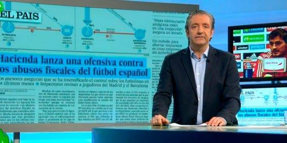 """Garrotazo de Josep Pedrerol a la jefa de prensa de la Selección por censora: """"Directora de incomunicación: Paloma Antoranz"""""""