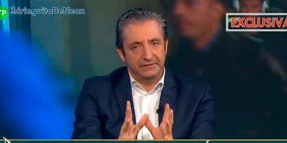 """Pedrerol defiende a Luis Enrique: """"No se achanta a la presión de muchos periodistas que quieren manejar el vestuario"""""""