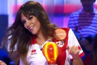 Cristina Pedroche se burla de un jugador del Rayo en Pasapalabra