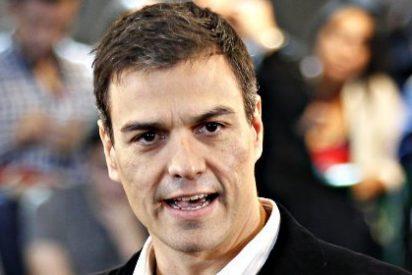 El socialista Pedro Sánchez, en un ataque de 'podemitis', propone revocar el techo de gasto del artículo 135 de la Constitución