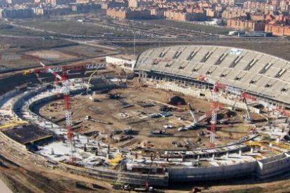 El Atlético sufre un parón en las obras de La Peineta