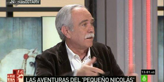 """Pérez Henares: """"El pavo del Nicolasín éste llega a mi pueblo y va al pilón"""""""