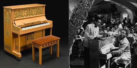 El piano de Casablanca, subastado por 3,4 millones de dólares