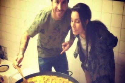 Pilar Rubio presume de 'su cocinero' Sergio Ramos