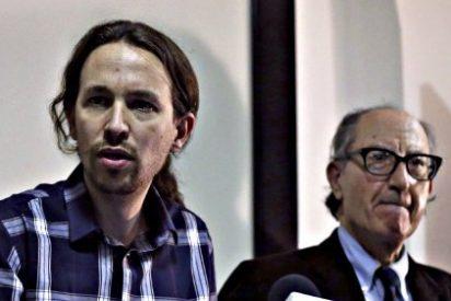 """El vídeo en el que Pablo Iglesias llama """"caradura"""" a Vicenç Navarro, actual economista de Podemos"""