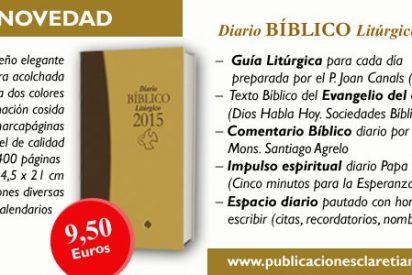 Santiago Agrelo comenta el Diario Bíblico Litúrgico 2015 (Claretianas)