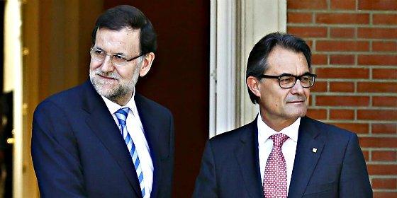 Rajoy se plantará en Cataluña para defender 'a la gallega' los intereses de todos los catalanes