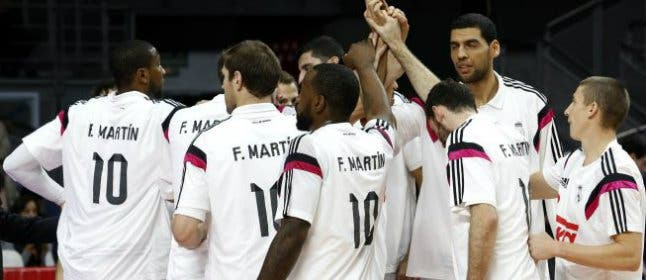 El Real Madrid se mantiene invicto en el homenaje a Fernando Martín