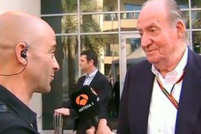 """La exclusiva que sin querer soltó Don Juan Carlos de Borbón: """"He estado hablando con Alonso y me ha dicho que se va a McLaren"""""""