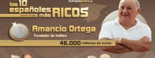 La envidiable lista de las 100 personas más ricas de España no tiene parangón
