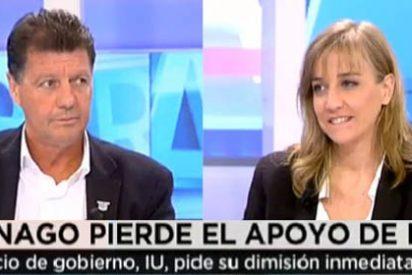 """Alfonso Rojo a Tania Sánchez: """"Tú no has pillado ni el bús ni el metro desde que hiciste la Primera Comunión"""""""