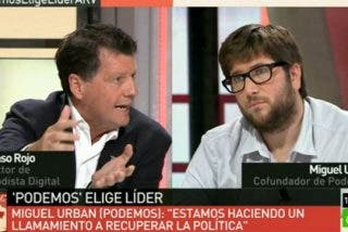"Alfonso Rojo exige transparencia a Miguel Urbán (Podemos): ""¿Recibisteis dinero de Venezuela sí o no?"""