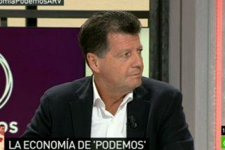 """Alfonso Rojo sobre el programa económico de Podemos: """"Se trata sólo de ganar, bien aplaudiendo al Papa, yendo al zoo o sacando a la momia de Excálibur"""""""