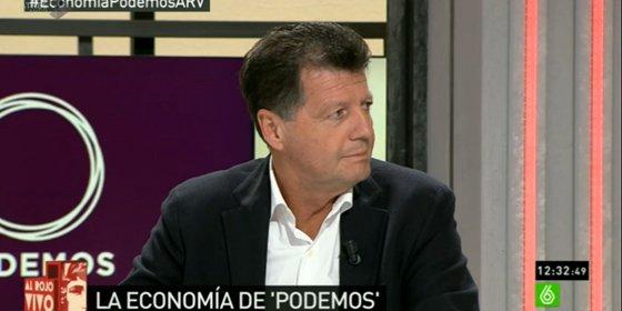"""Alfonso Rojo sobre el programa económico de Podemos: """"Se ..."""