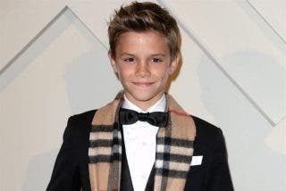 El hijo de Beckham gana 60.000 euros en un día de trabajo con sólo 12 años
