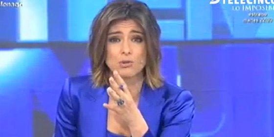 Sandra Barneda también hace de niñera de Podemos en 'Un Tiempo Nuevo'