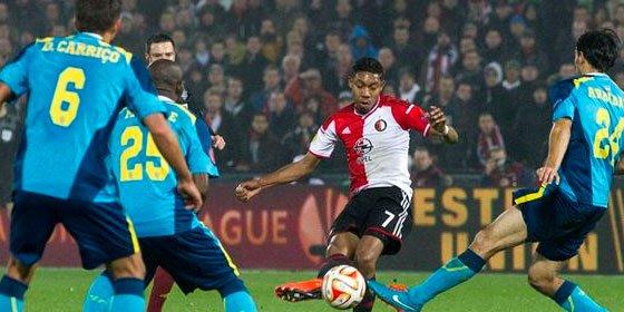 El Sevilla pierde en Róterdam por 2-0 ante el Feyenoord y se jugará el pase en casa