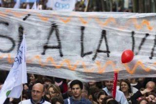"""Miles de manifestantes piden a Rajoy que """"erradique"""" el aborto de la legislación española"""