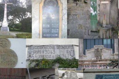 Una docena de símbolos franquistas perviven en Vigo, Baiona y Nigrán