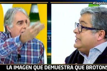 """Brotons acusa a Siro López de no defenderle: """"No tienes vergüenza, eres un presentador nefasto"""""""
