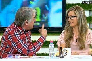 """Siro López manda callar a Danae Boronat tras mediar en la bronca con Brotons: """"El que dirige el programa soy yo"""""""