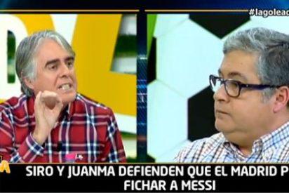"""Siro López le lee la cartilla a Brotons: """"Ya no te conformas con atacar a los periodistas de aquí, ahora también a los de Argentina"""""""