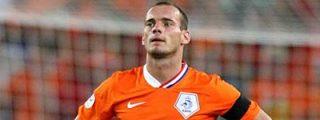 Quiere juntar a Xavi... ¡con Sneijder!