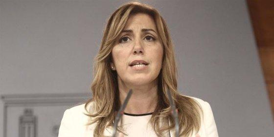 """Susana Díaz cree """"en la honradez de Chavez y Griñán"""""""