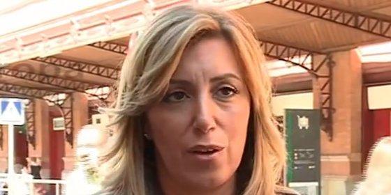 """Susana Díaz recuerda a Rajoy que """"además de la ley está la política"""""""
