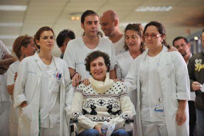 Teresa Romero vuelve a la normalidad tras salir del hospital Carlos III