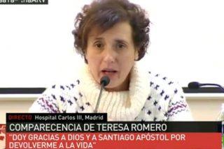 """Teresa Romero sale del Carlos III """"sin rencor"""", pero con abogados en la recámara"""