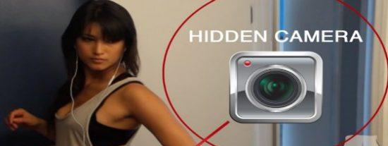 Una cámara en el trasero para sugerir a los mirones que vigilen la 'delantera'