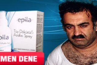 Usan el autor intelectual confeso de los atentados del 11-S... ¡Para anunciar una crema depilatoria!