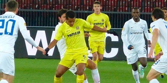 El Villarreal tropieza ante el Zúrich en una primera parte loca (3-2)