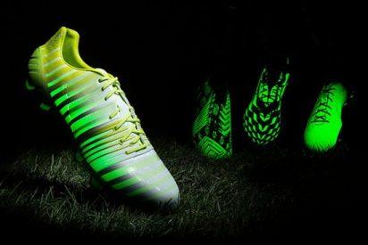 Adidas sorprende con sus nuevas botas que brillan en la oscuridad