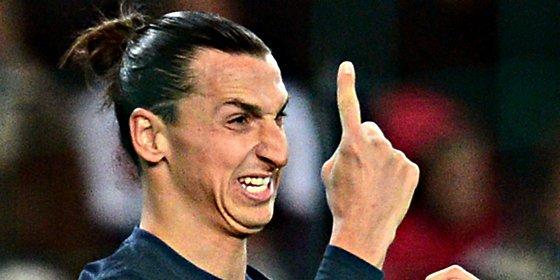 Ibrahimovic cuela a dos españoles en su once