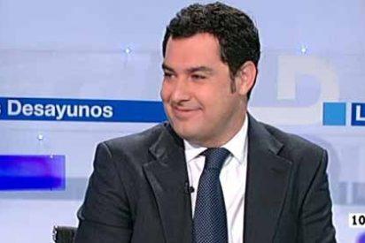 """Juanma Moreno (PP): """"Rajoy tiene siempre la puerta abierta y la mano tendida para los andaluces"""""""