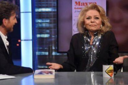"""Uno de los momentos del año en TV, el de Mayra Gómez Kemp en 'El Hormiguero': """"Espero no morirme antes que Fidel Castro"""""""