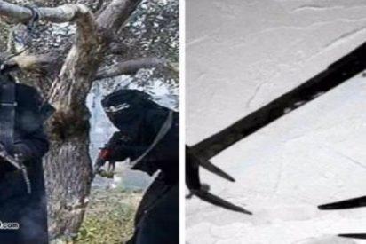 El Estado Islámico tritura los pechos de las mujeres que dan de mamar a sus bebés en público con... ¡El Mordedor!
