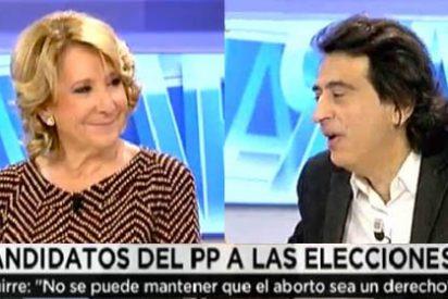 """Esperanza Aguirre se harta de que Arcadi le recuerde lo del carril-bus: """"¿Qué quiere usted, fusilarme al amanecer?"""""""