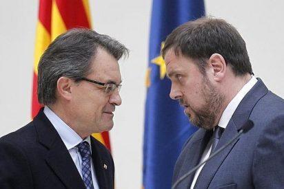 Junqueras rechaza mirando al frente la candidatura unitaria propuesta por Artur Mas