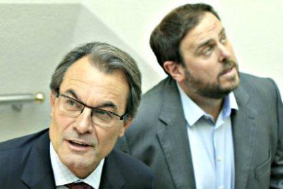 Mas y Junqueras vuelven a las andadas y se comprometen a trabajar por un acuerdo común