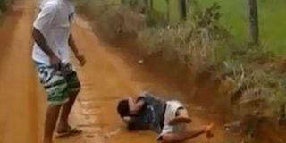 """El salvaje vídeo del asesino de un joven de 16 años: """"Lo maté, porque unos matan y otros mueren"""""""
