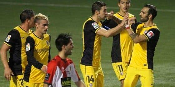 El Atlético de Madrid vence cómodamente al Hospitalet en la ida de los dieciseisavos de Copa (0-3)