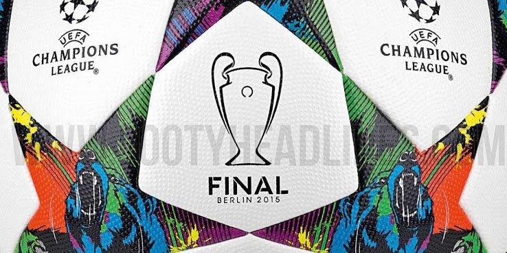 Los sorprendentes colores del balón de la final de la Champions