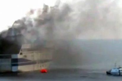 El vídeo desde el 'ferry del infierno':